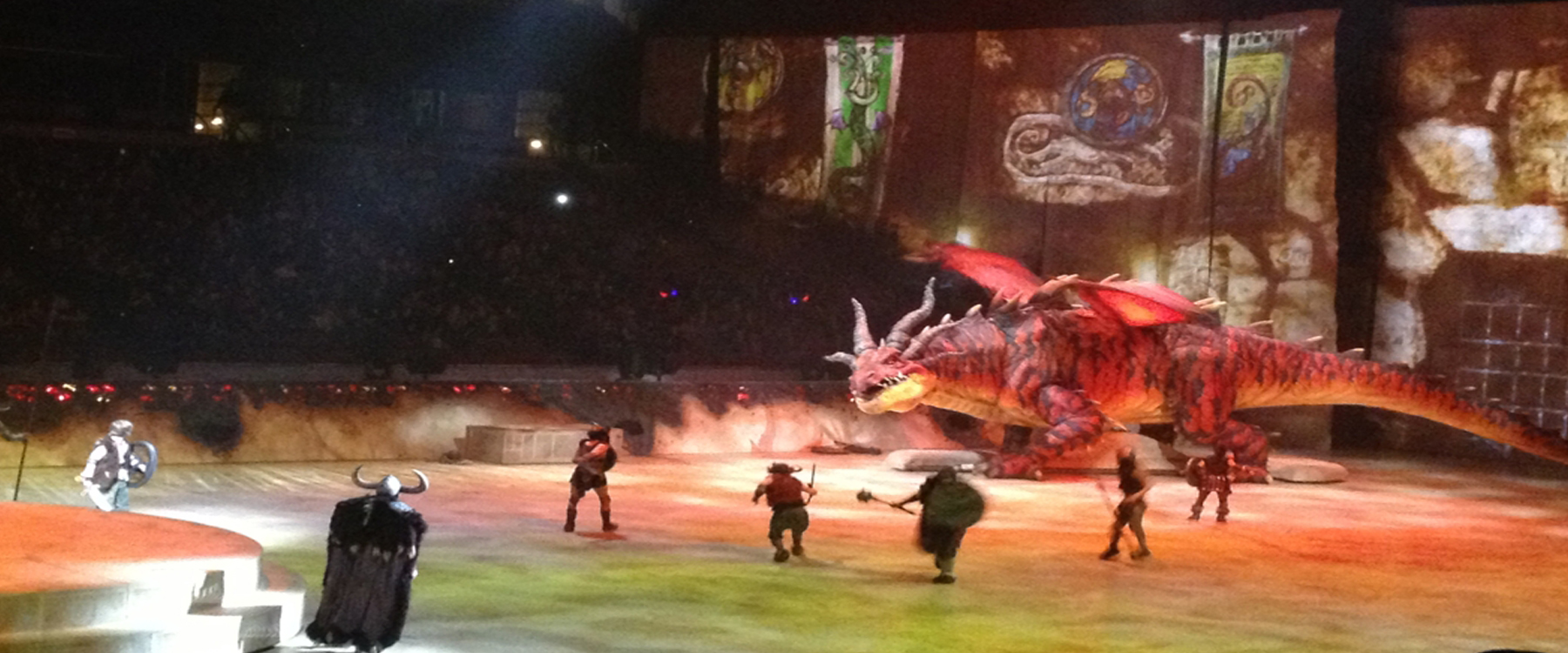 how to train your dragon arco arena
